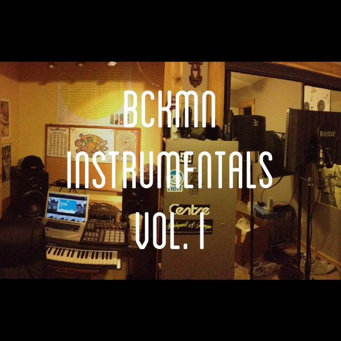 BCKMN Instrumentals Vol. I cover art