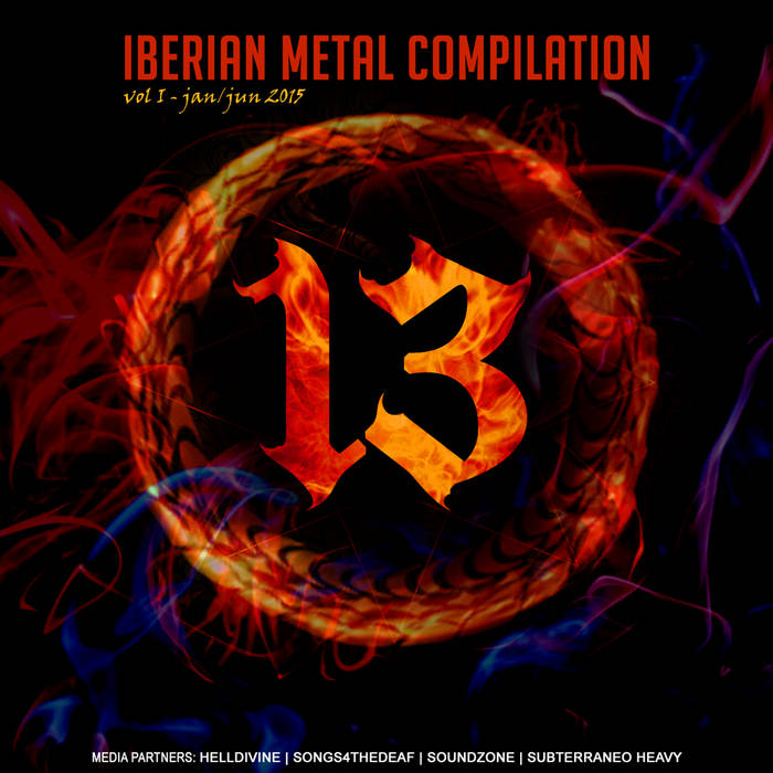 13 Iberian Metal Comp vol.1 cover art