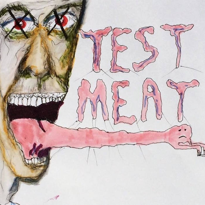 Ricardo Lagomasino and Nick Reinhart - Test Meat cover art