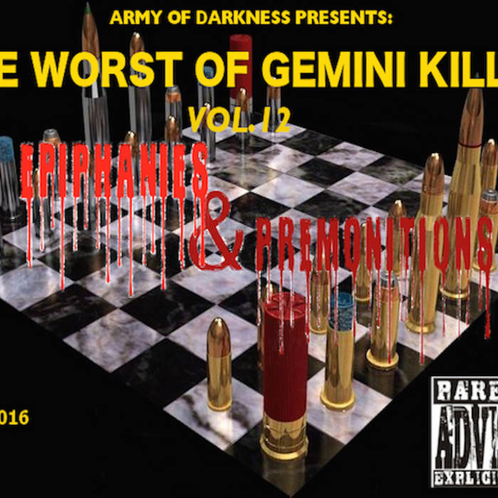 THE WORST OF GEMINI KILLER VOL.12: EPIPHANIES & PREMONITIONS cover art