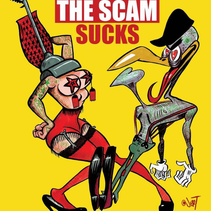 The Scam Sucks cover art