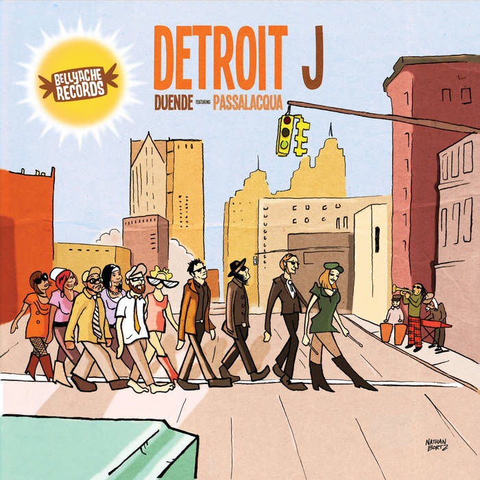 Detroit J (w/ Duende!) cover art