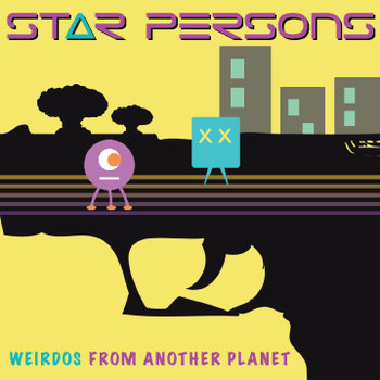Weirdos From Another Planet cover art