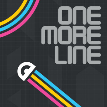 ONE MORE LINE game soundtrack cover art