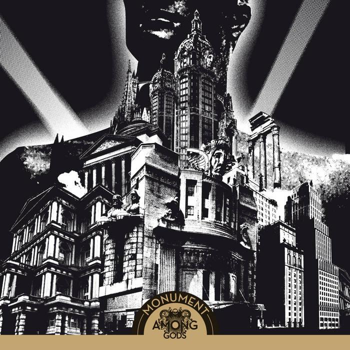 AMONG GODS Monument CD cover art