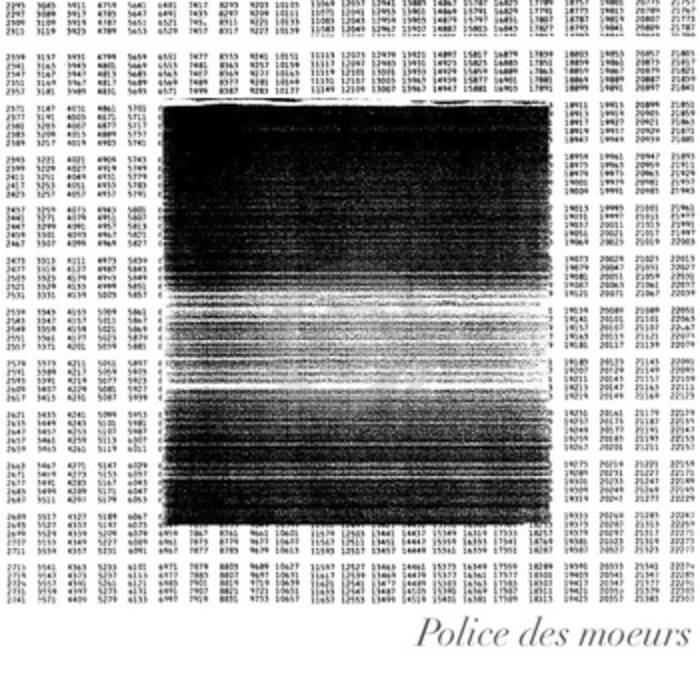 Police des Moeurs cover art