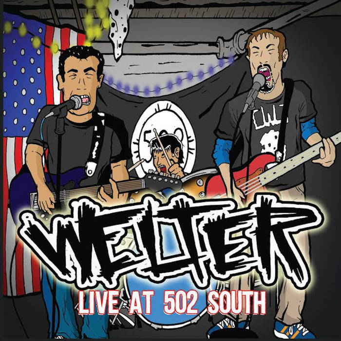 Live at 502 South cover art