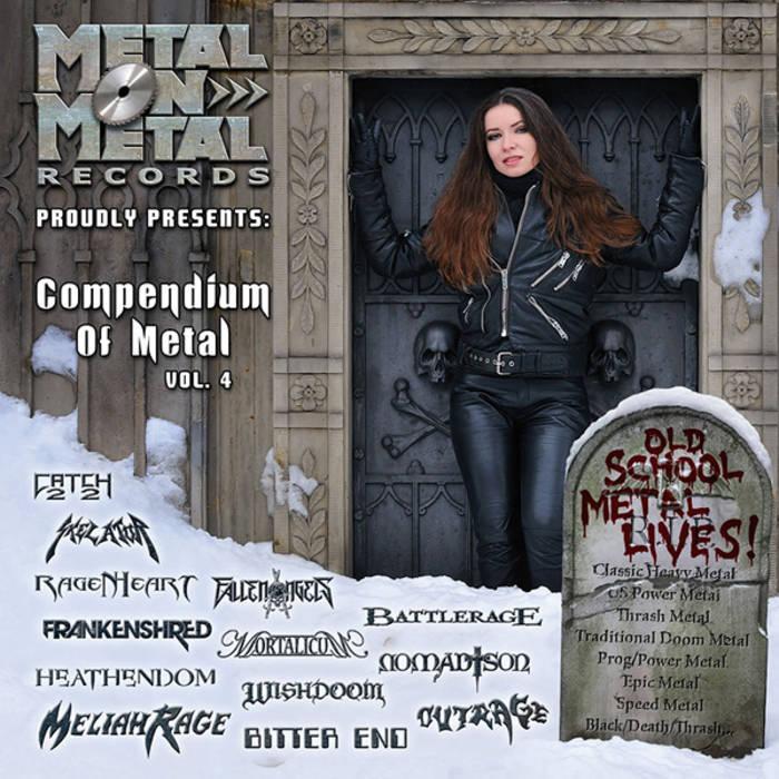 """VV.AA. """"Compendium Of Metal Vol. 4"""" cover art"""
