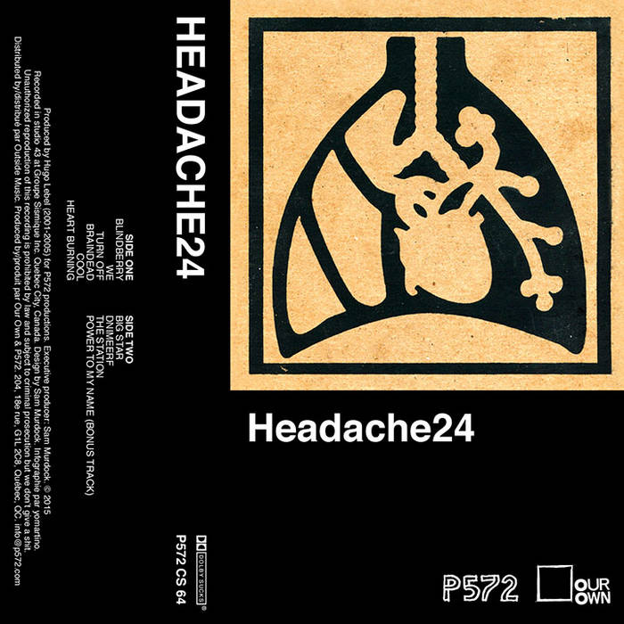 Headache24 (10 years of Cool) cover art