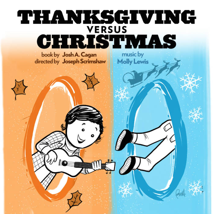 Thanksgiving vs. Christmas cover art