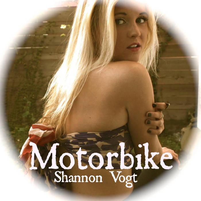 Motorbike cover art