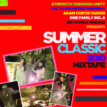 Summer Classic 2010 Mix Tape cover art
