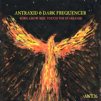 AnTraxid & Dark Frequencer - Born. Grow, Rise, Touch the Stars & Die cover art