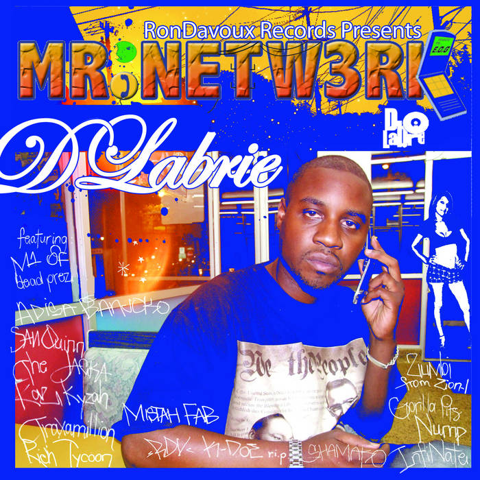 MR NETW3RK part 1 produced by InfiNate(MTV) cover art
