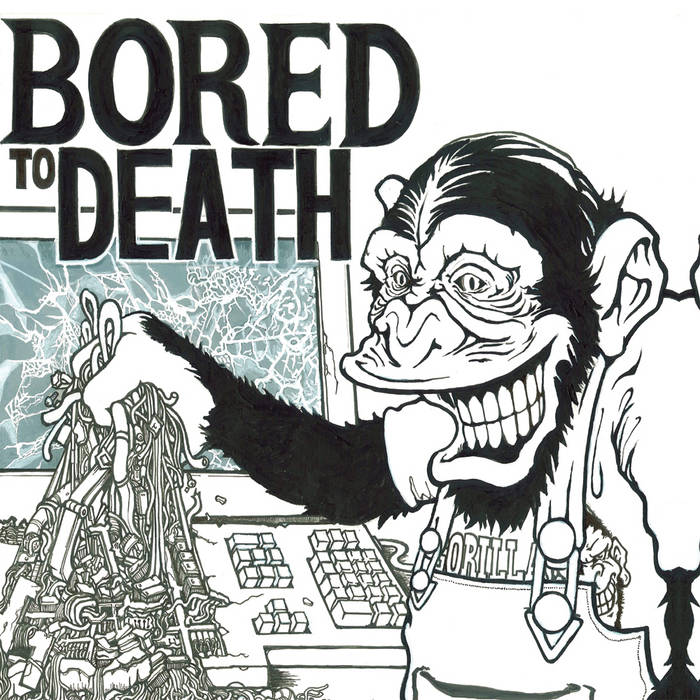 Bored to Death EP cover art