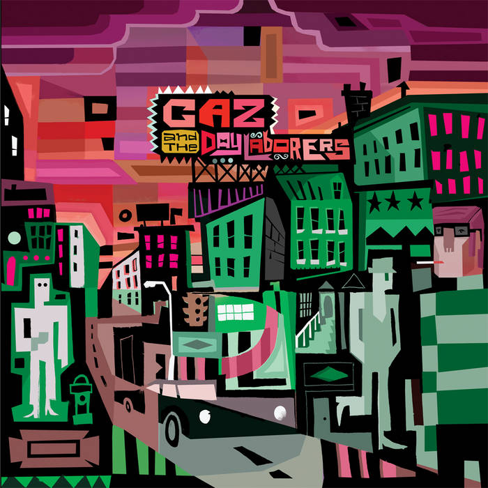 Caz and the Day Laborers cover art