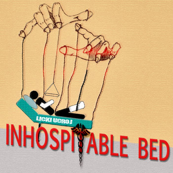 Inhospitable Bed cover art