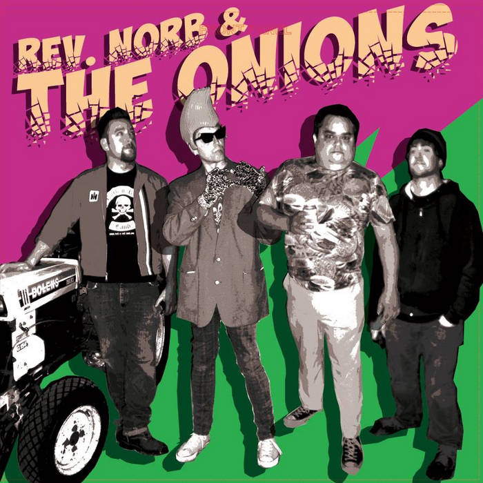 Rev. Norb & THE ONIONS s/t cover art