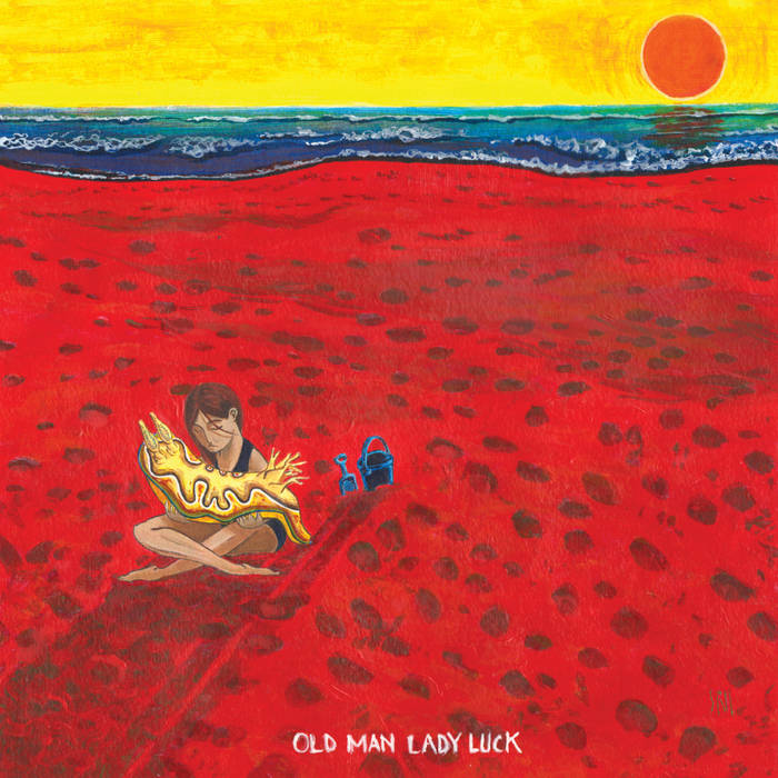 old man lady luck LP cover art