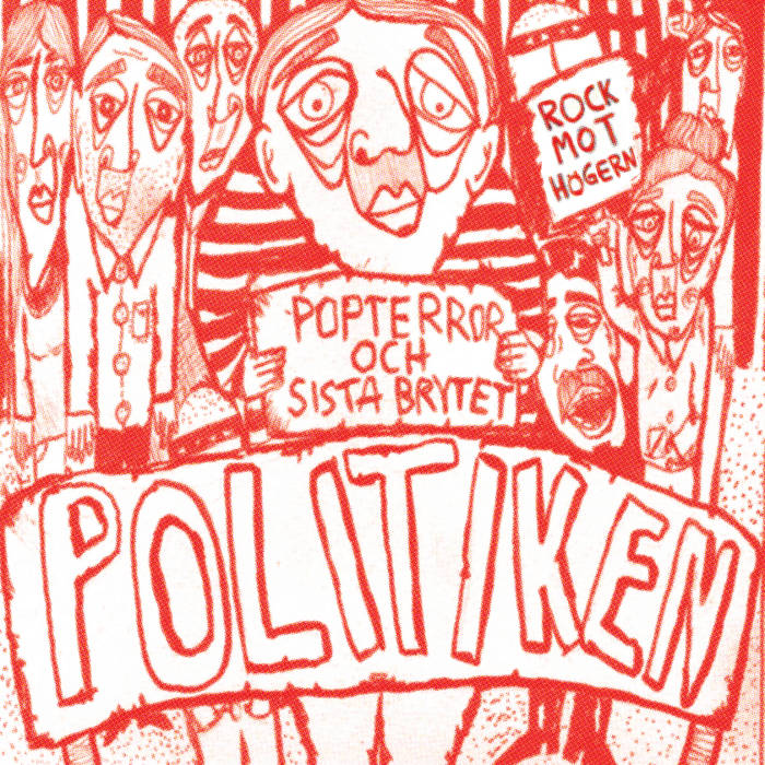 POLITIKEN split with Popterror cover art