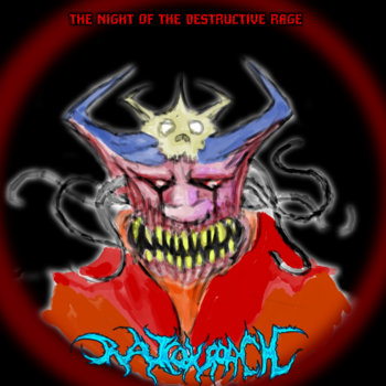 The Night Of The Destructive Rage cover art
