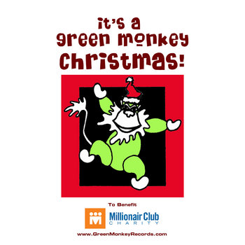 It's A Green Monkey Christmas! cover art