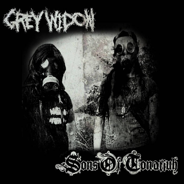 Sons of Tonatiuh & Grey Widow (Split release) cover art