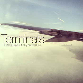 Terminals   (D-Cent Jerks/A Guy Named Guy) split. cover art