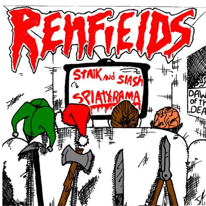 The Renfields: Stalk and Slash Splatterama cover art
