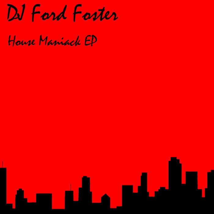 HOUSE MANIACK E.P. cover art