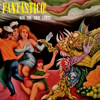 Run For Your Lives!!! cover art