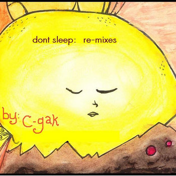 don't sleep: re-mixes cover art