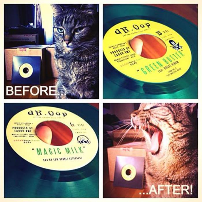 Green Butter / Magic Milk 45 cover art