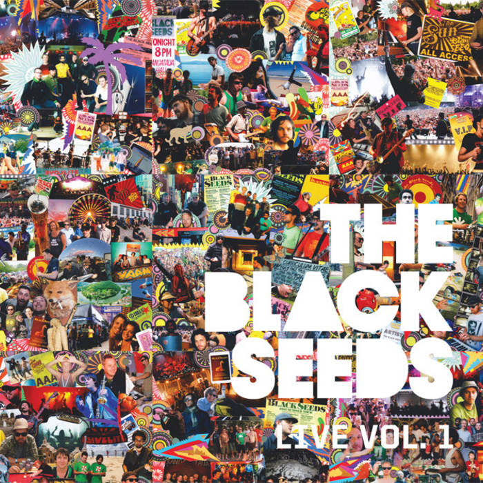 The Black Seeds Live: Vol 1 (Digital) cover art
