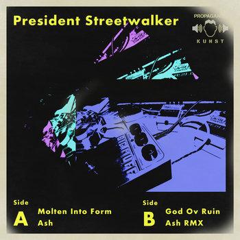 President Streetwalker EP cover art