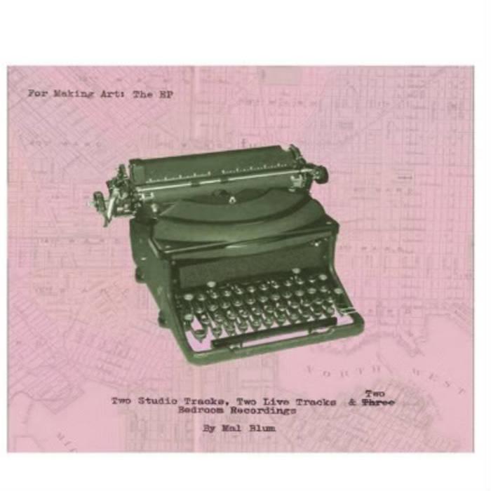 For Making Art (EP) cover art