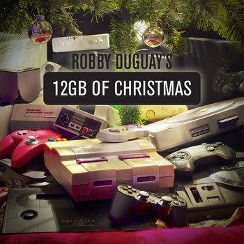 12 GB of Christmas cover art