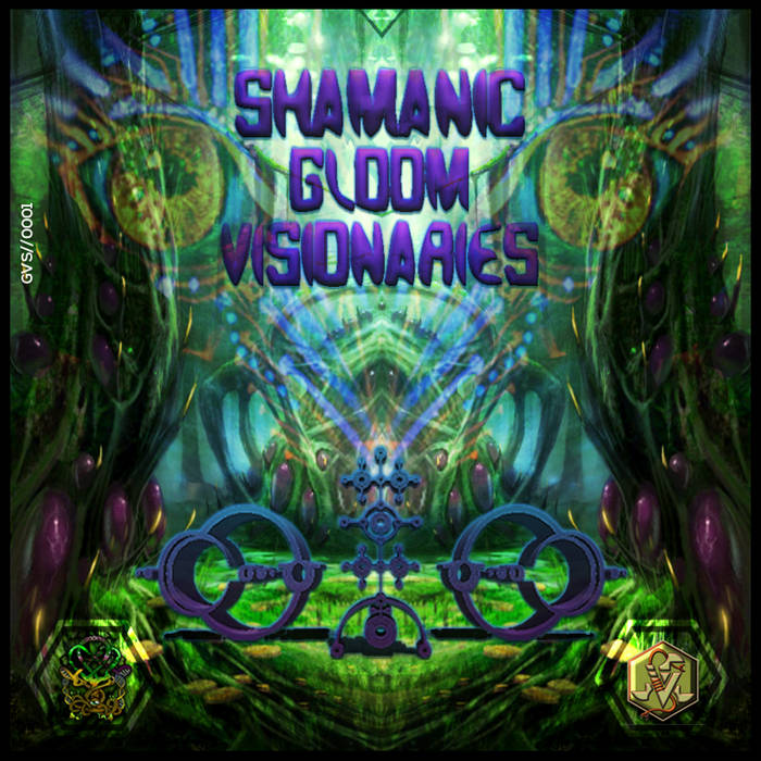 V.A Shamanic Gloom Visionaries cover art