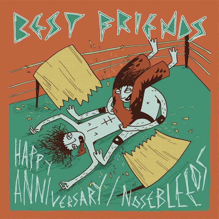 Happy Anniversary/Nosebleeds cover art