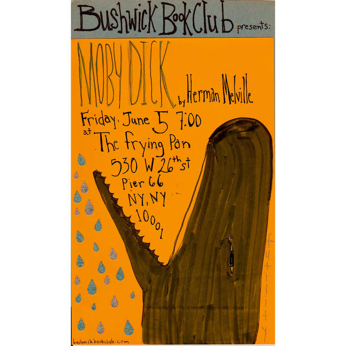 Bushwick Book Club presents MOBY DICK cover art