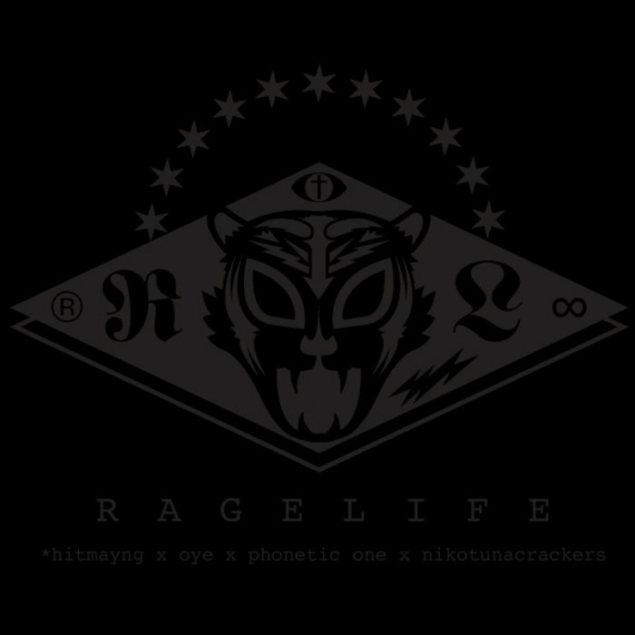 RAGELIFE LP cover art