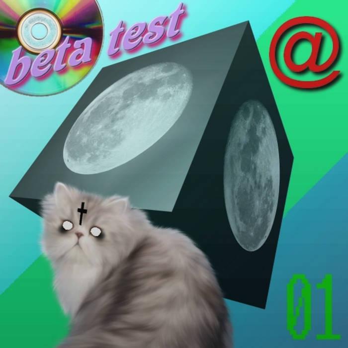 β test.01 EP cover art
