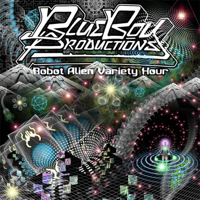 Robot Alien Variety Hour cover art