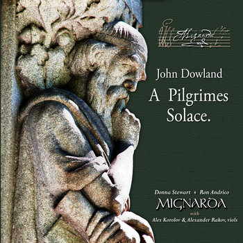 John Dowland. A Pilgrimes Solace. cover art