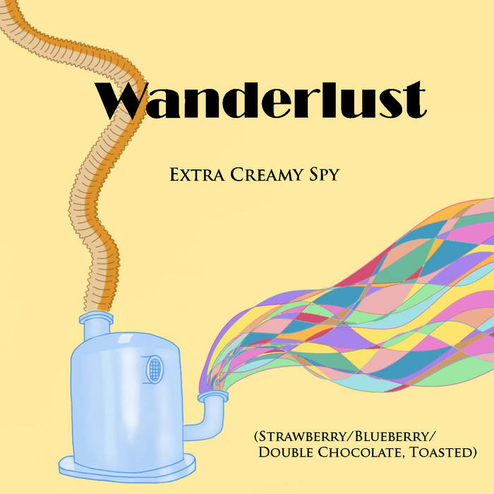 Extra Creamy Spy (Strawberry/Blueberry/Double Chocolate, Toasted) cover art