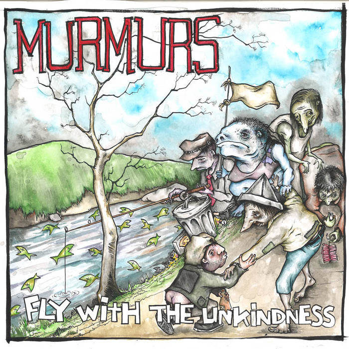 Fly With The Unkindness LP cover art