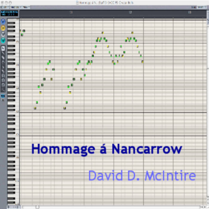 Hommage á Nancarrow cover art