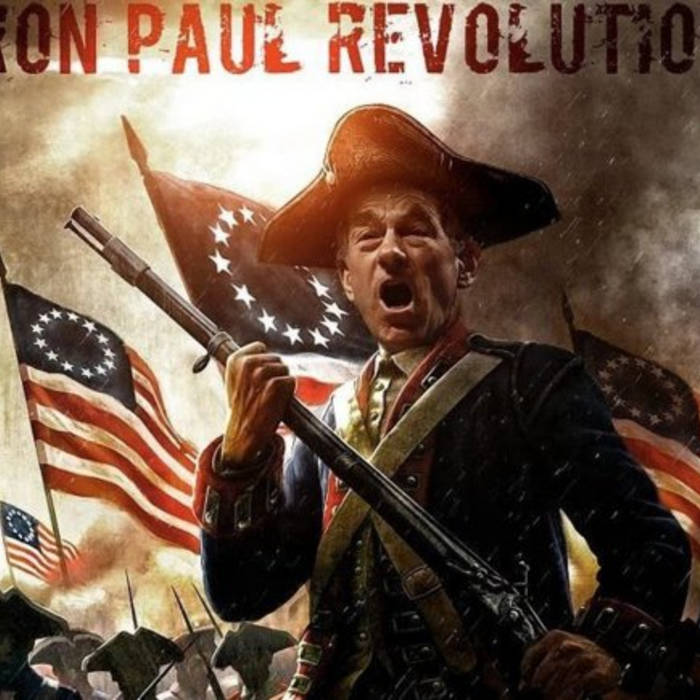 = Ron Paul Revolution = cover art