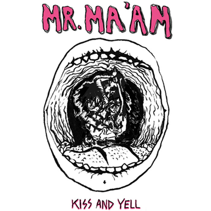Kiss & Yell cover art