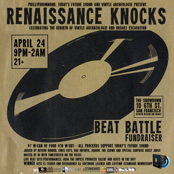 Today's Future Sound, Phillipdrummond and Vinyle Archeologie and Breaks Excavation Present: Renaissance Knocks Beat Battle Tape cover art